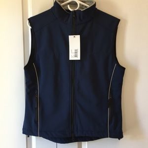Women's Vest -water resistant/micro fleece lining